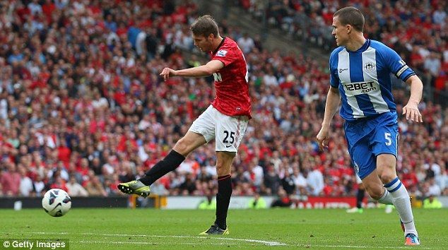 Nick Powell signed for Man United last summer and scored on debut against Wigan