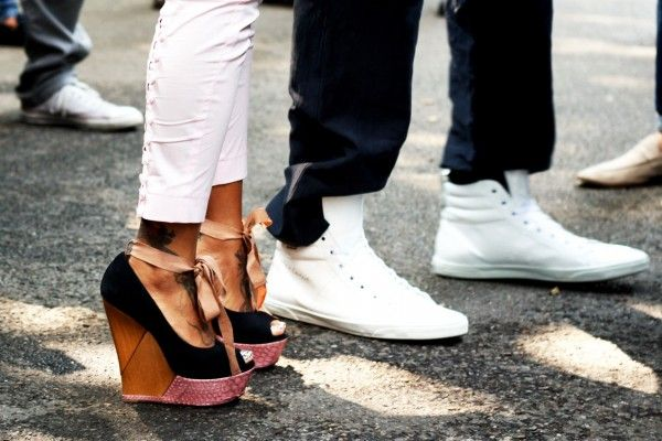 Hers not his. :)Shoes, A Mini-Saia Jeans, Fashion, Wedges Heels, Style, My Life, Lanvin Wedges, Blog, White Jeans