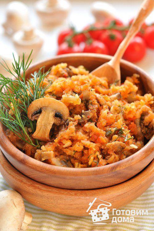 Рецепт Кабачковая икра с шампиньонами