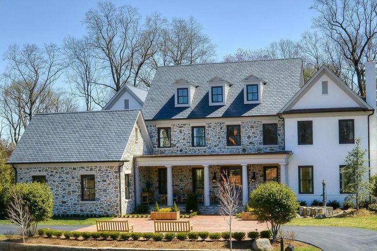 Elegant Old American Farmhouse Style Mansion | iDesignArch | Interior Design, Architecture & Interior Decorating eMagazine