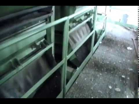 Afino de compost con mesa densimétrica GOSAG