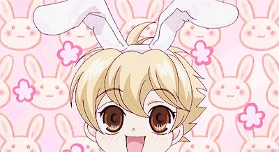 Honey senpai so cute i want to take him home with me he could be my bodyguard and my pet XD XP