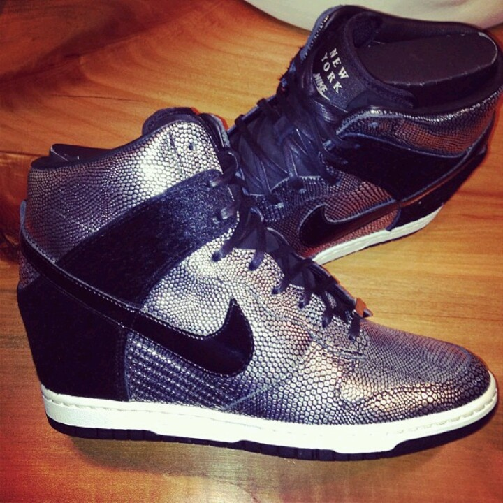 Nike wedge sneakers exclusively for New York Fashion Week. #Flyy