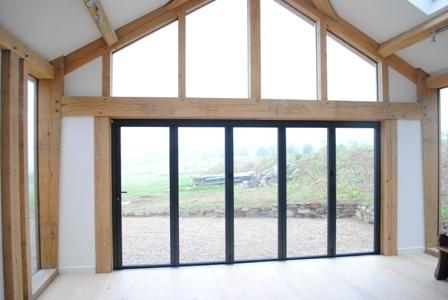 Folding doors - Sunflex SF55 - Inside & 7 best Lanai u0026 Garage Doors images on Pinterest | Carriage doors ...
