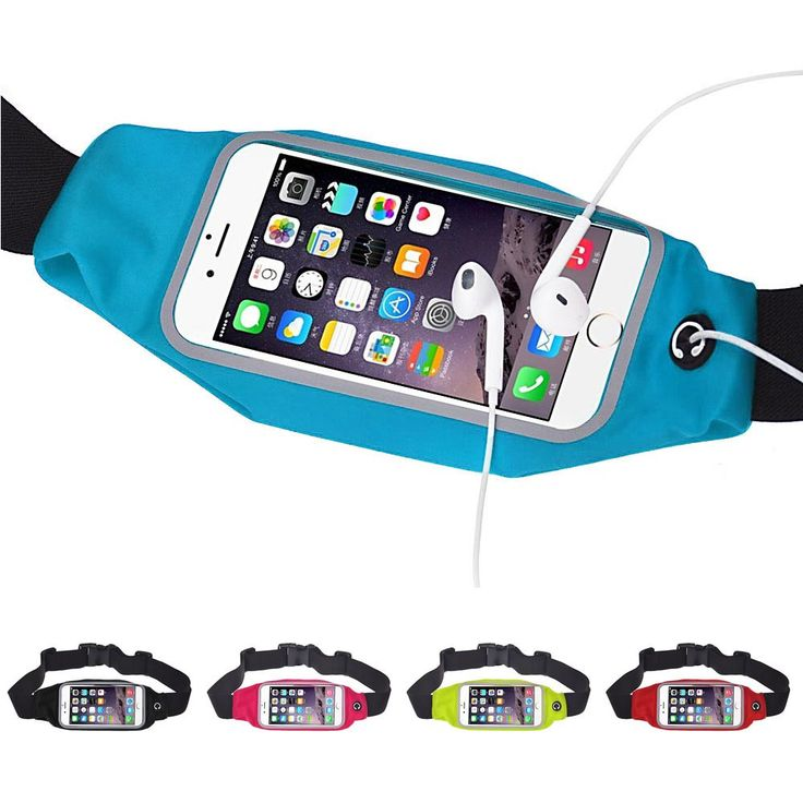 Unisex Sports Running Gym Waist Belt Bag waterproof fanny pack mobile phone Pouch Case Cover for iphone 6 Plus 5.5 #Affiliate