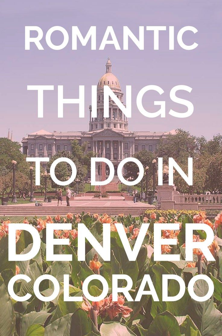 Romantic Things To Do in Denver Colorado | Valentines Day Denver | Fun activities for couples in Denver | unique date Denver