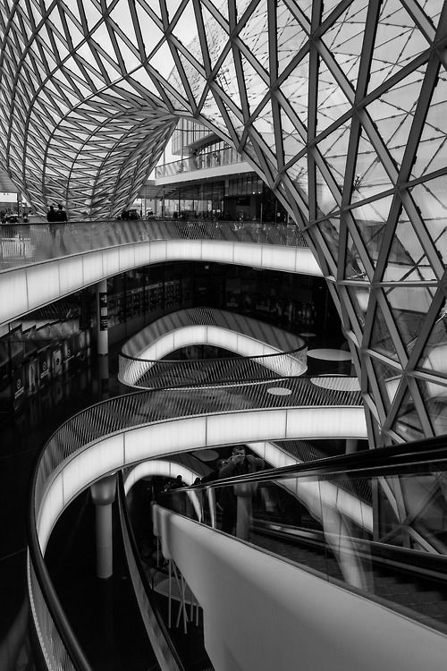 Shopping Centre, Frankfurt, Germany