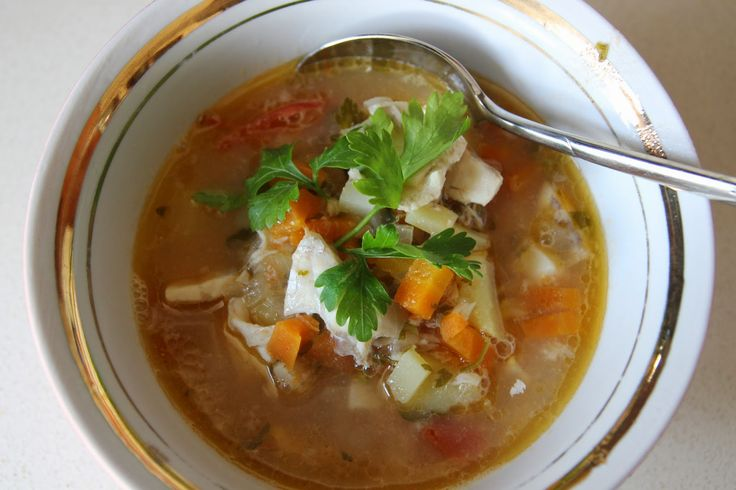 A Seasonal Cook in Turkey: Chunky Fish Soup with ...