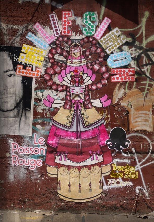Street Art in Williamsburg, Brooklyn by Koralie