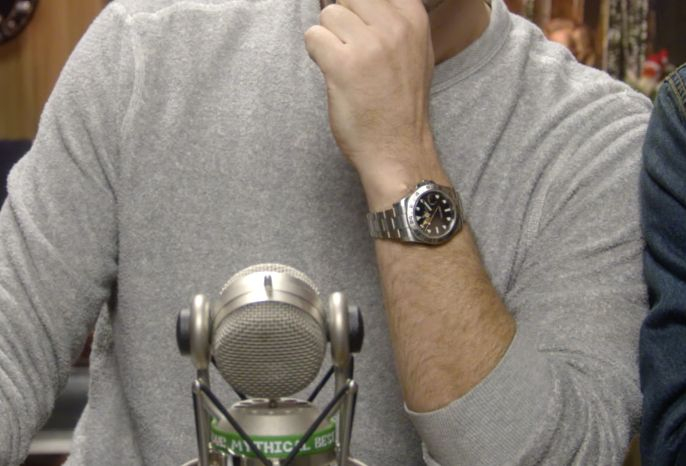 [Identify] What watch is this? Worn by Zach Braff on GMM with Rhett and Link. via /r/Watches
