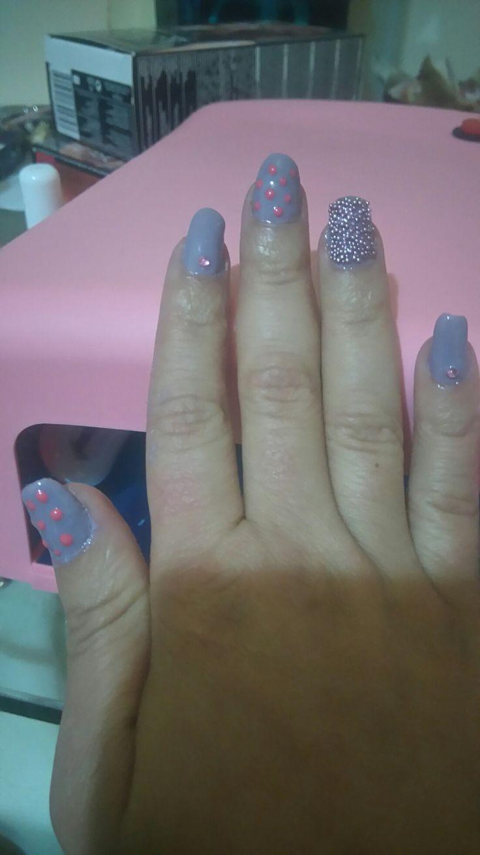 ##mauve##nails
