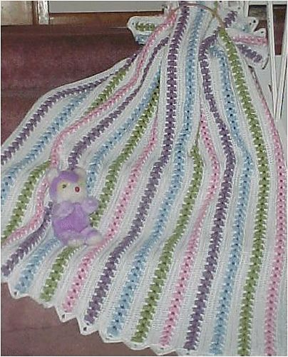 56 best crochet mile a minute afghans blankets throws images on ravelry popcorn pastels throw pattern by kim guzman fandeluxe Images