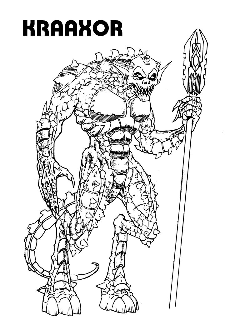 Darker than Dracula.  A villain the world will never forget.  This guy is inspired by Killer Croc from Marvel.