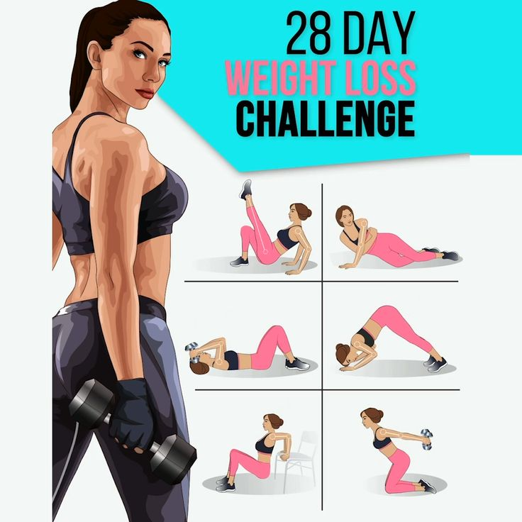 28 Day Weight Loss Challenge to Have Perfect Body