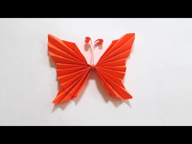 How To Make Paper Butterfly Origami Butterfly Easy Paper Craft