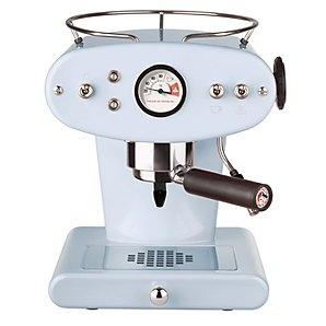 I SO want a light blue vintage espresso machine!!! Buy FrancisFrancis! X1 Coffee Maker, Light Blue online at JohnLewis.com
