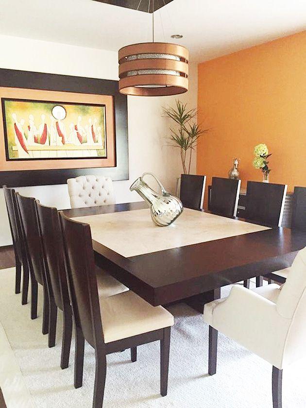 Paredes En Color Naranja Potentes Atractivas Y Energicas Mil Ideas De Decoracion Colores Para Sala Comedor Decoracion De Comedores Modernos Diseno De La Sala De Comedor