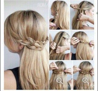 Nice things: Summer hair 2   Καλοκαιρινά μαλλιά 2  #summer #summerhair #braids #beachhair