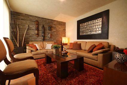 Fachaleta de piedra buscar con google ideas para el - Habitaciones color naranja ...
