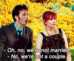 doctor who David Tennant Catherine Tate Donna Noble mine 2 Tenth Doctor doctor who meme DW gif by me Ten x Donna
