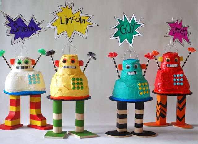 THE KIMBALL HERD: ROBOT PARTY!