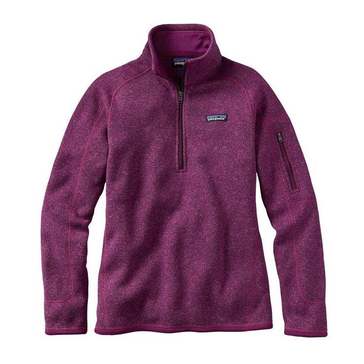 Patagonia Women's Better Sweater 1/4 Zip Pullover Jacket