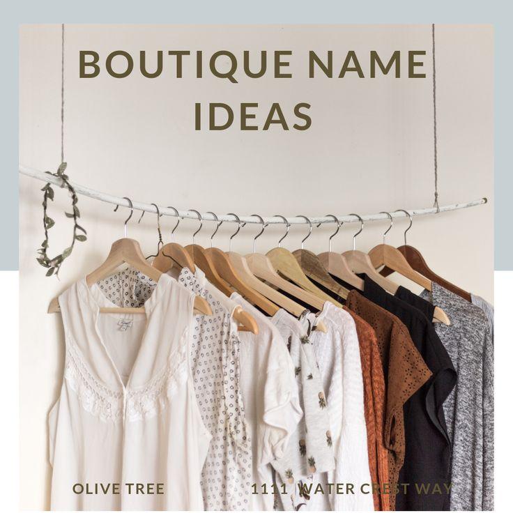 130+ Unique, Memorable, and Trendy Boutique Name Ideas