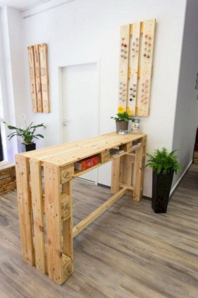 30 Simple Pallet Bar Diy Ideas For Your Home Decor Page 30 Of 31 Pallet Furniture Bar Table Pallet Home Decor Pallet Furniture