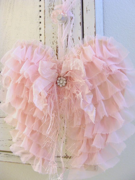 Hey, I found this really awesome Etsy listing at https://www.etsy.com/listing/180427578/shabby-fabric-angel-wings-french-country