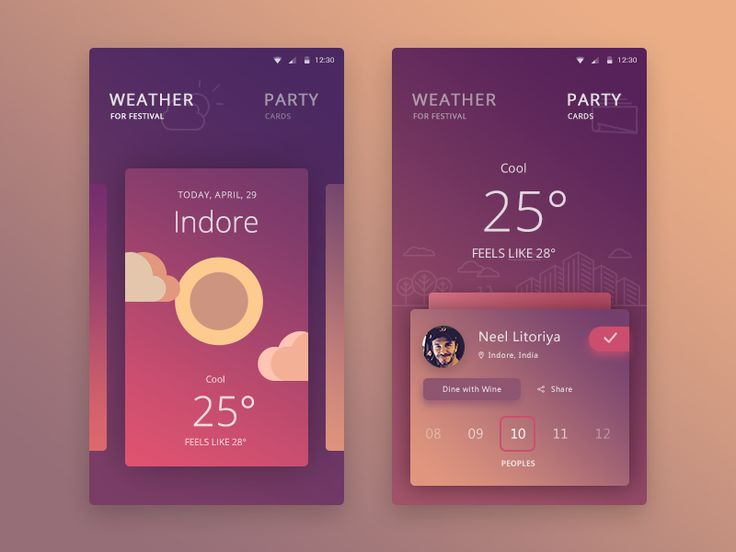 Whew  ^_^, finally done with the Personal festival app, beautiful party organizer app with weather function to take a perfect place for outdoor parties, functions.