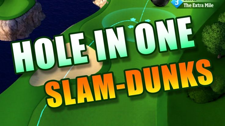 Top 10 Hole in One and Slam Dunks 2017 | Golf Clash | Top mobile games |