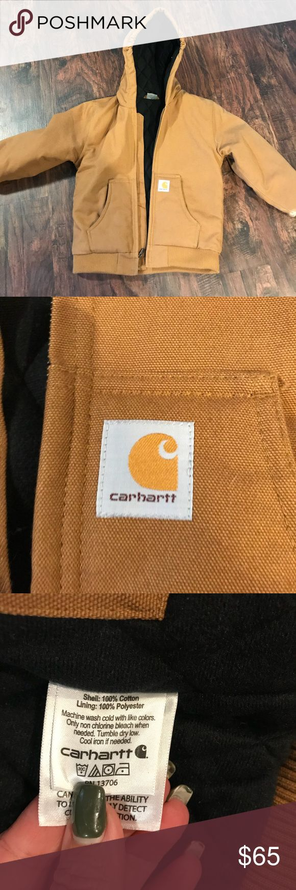 Carhartt boys work active quilted jacket New without tags, boys carhartt quilted winter jacket. Never worn. Size small (7-8) Carhartt Jackets & Coats