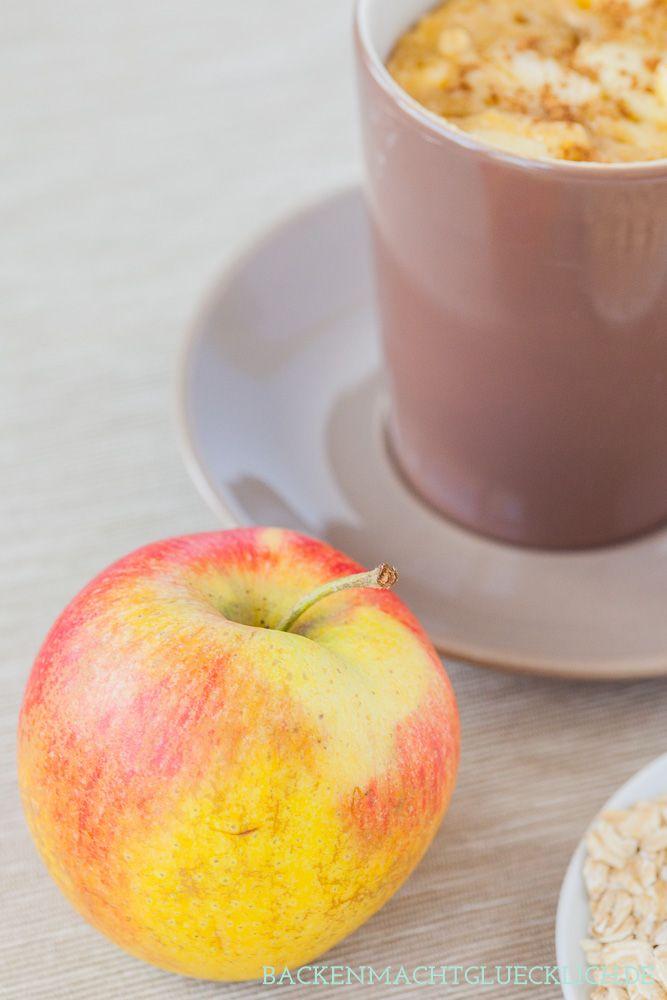 Apfelkuchen aus der Tasse