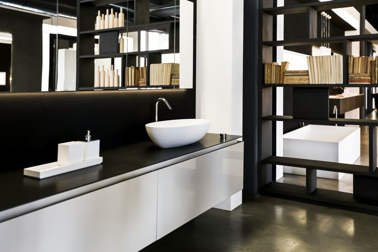 K.FLY bath collection by  RiFRA Kitchens and Baths direct from Milano