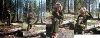Mulle i skogen: Många bra tips på lekar, sånger och aktiviteter i skogen!