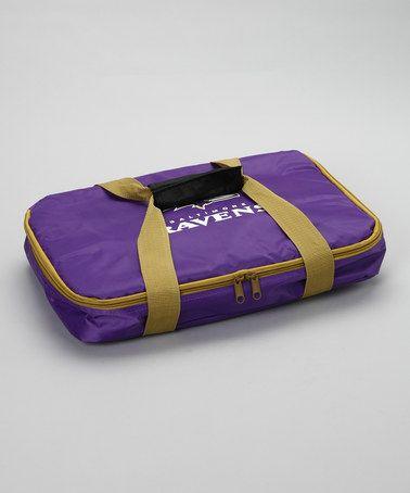 Baltimore Ravens Casserole Carry Bag Set by MRL Sports. @Kelly Houpt @Kathy McClellan