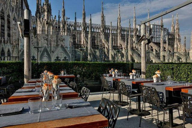 Maio Restaurant  Milan Italy  Bars Cafes Clubs Pubs