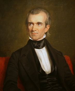 President James Polk member of Columbia Lodge No. 31, TN