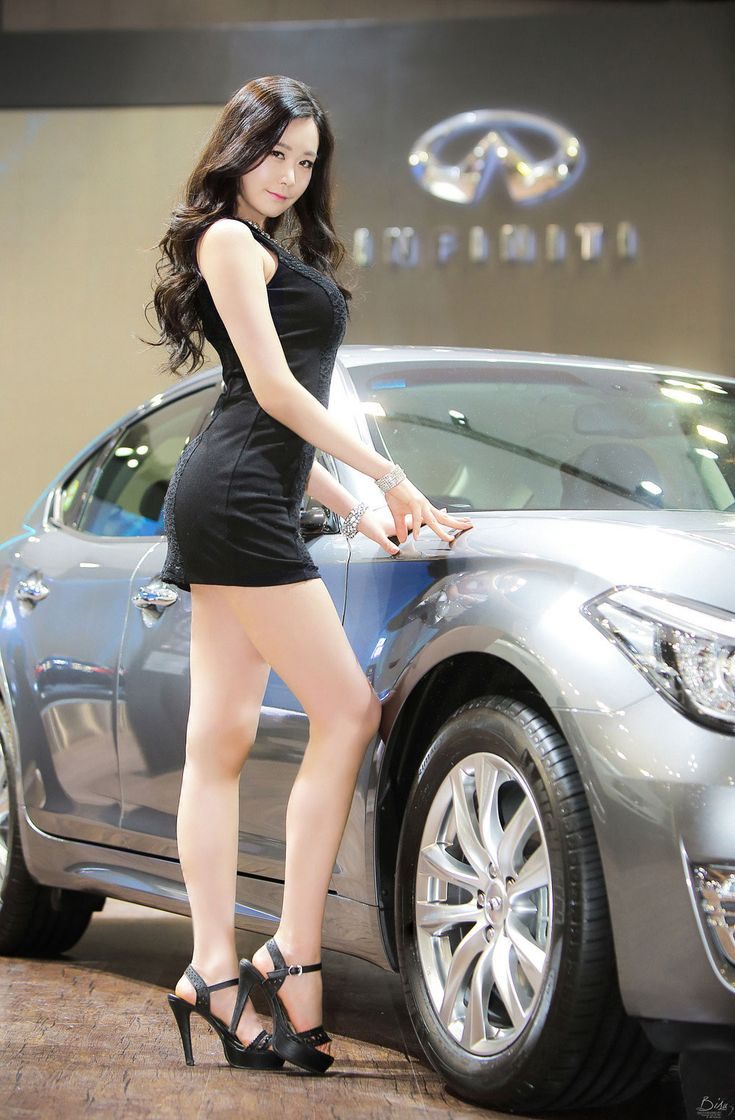 Model Eun Ha Young at Seoul Motor Show 2015 ~ Photo by Bisu