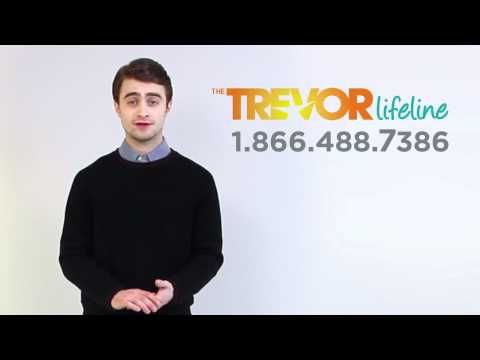 The Trevor Project is the leading national organization providing crisis intervention and suicide prevention services to lesbian, gay, bisexual, transgender, and questioning youth.     http://www.thetrevorproject.org/