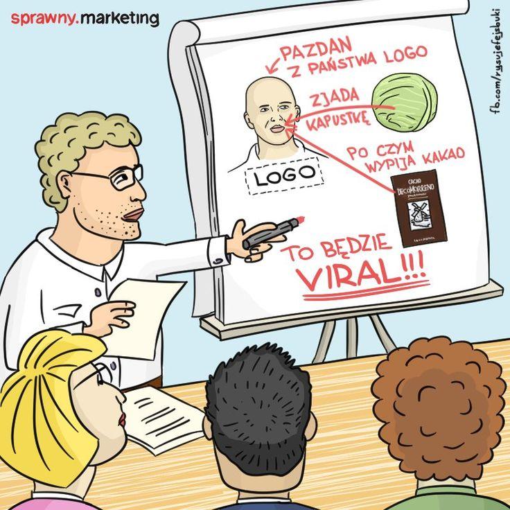 """Dziś przepis na viral dla Sprawny.Marketing i komentarz jednego z użytkowników: """"a na koniec drapie po jajkach i wącha"""" 😂"""