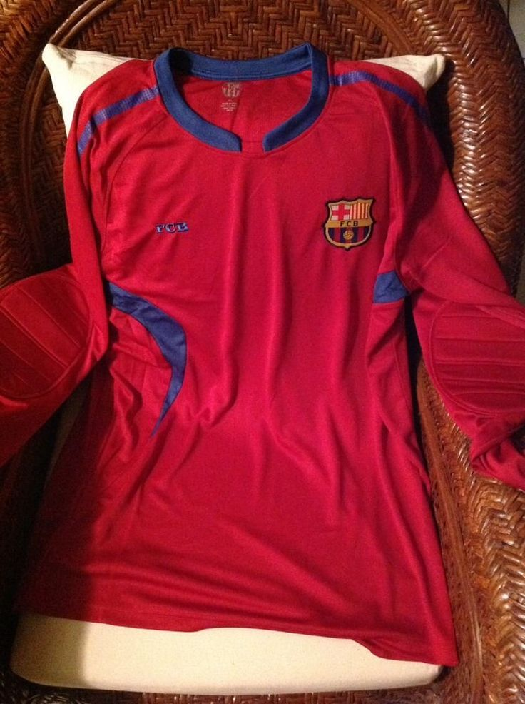 FC Barcelona Soccer Goalkeeper Long Sleeve Jersey New With Tags Size XL Mens in Sporting Goods, Team Sports, Soccer | eBay