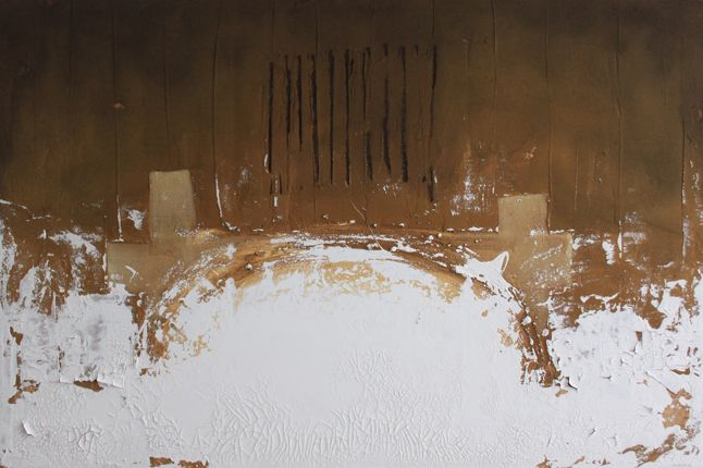 esim (2013) 150x100cm mixed media on canvas daniel soukup