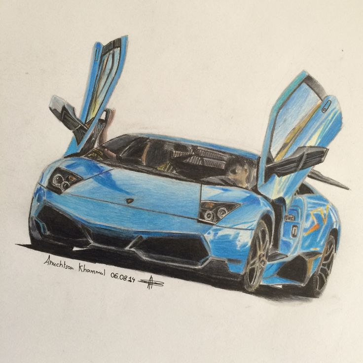 My car drawing :3