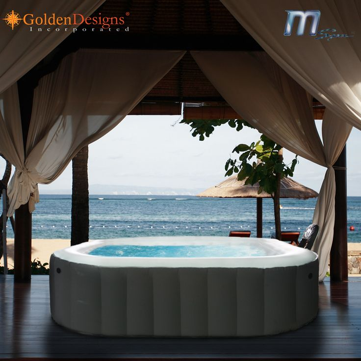 11 best hot tub images on pinterest backyard ideas garden ideas and terraces - Wayfair Hot Tub