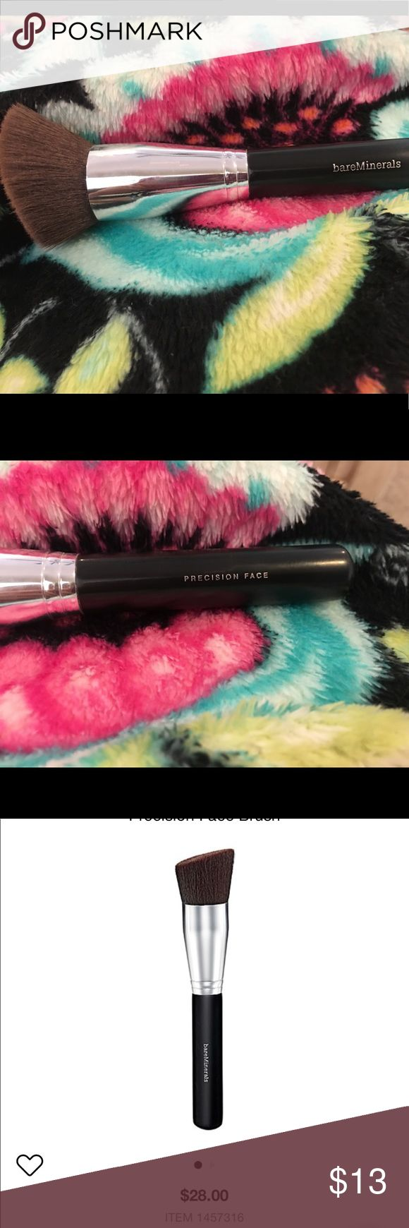 BareMinerals Precision Face Foundation Brush Used a few times. I'm getting rid of tons of my Bare Minerals Stash so check my closet to make a bundle! This brush has been cleaned and sterilized! Bare Escentuals Makeup Brushes & Tools