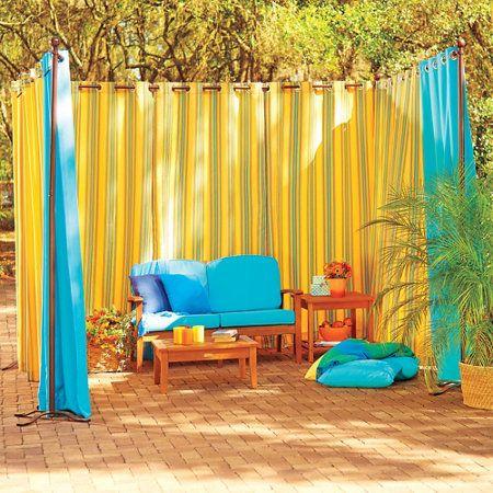 Best 25 Outdoor Curtain Rods Ideas On Pinterest Drop