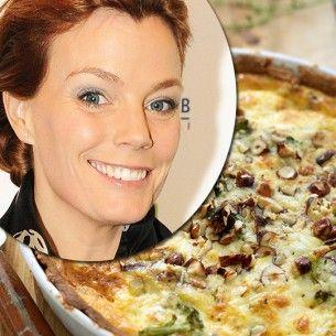 Gry Forsells broccoli- & ädelostpaj - Recept från Mitt kök - Mitt Kök