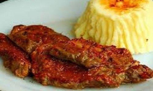 Yeşil Elma Fırında Soslu Biftek Tarifi 09.012015