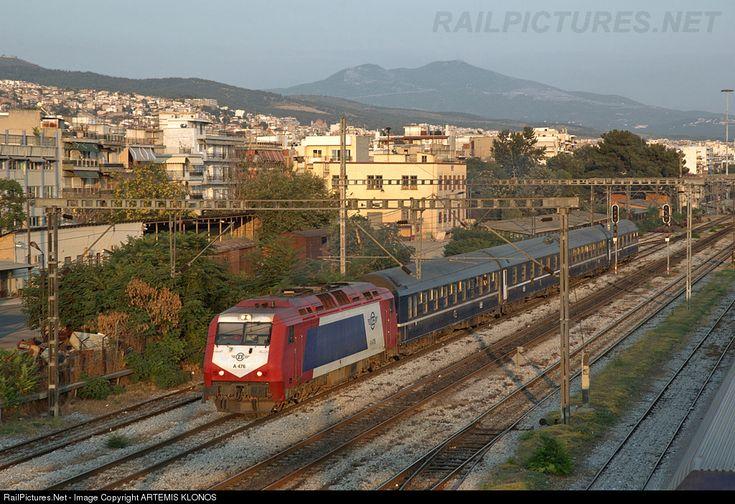 RailPictures.Net Photo: A 476 OSE Hellenic Railways ADTRANZ, DE2000 at Thessaloniki, Greece by ARTEMIS KLONOS